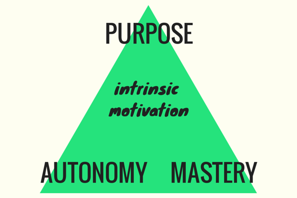 Purpose Motivation Mastery http://blog.idonethis.com/intrinsic-motivation/
